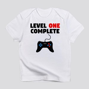 Level One Complete First Birthday T Shirt