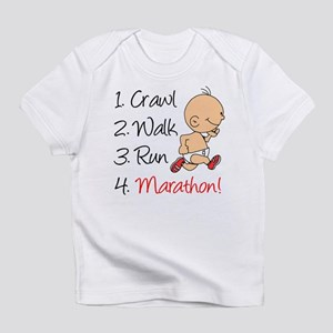 Crawl, Walk, Run Marathon Infant T-Shirt