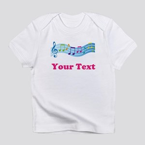 Music Personalized Cute Infant T-Shirt