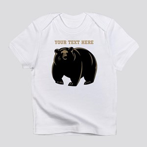 Big Bear with Custom Text. Infant T-Shirt