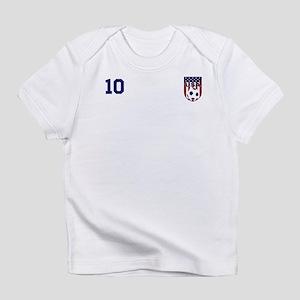 d2973cb0502 Custom USA Soccer T-Shirt Jersey Infant T-Shirt