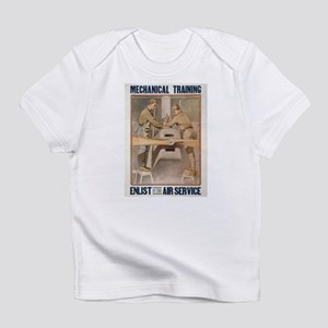 Air Service WWI Poster Creeper Infant T-Shirt