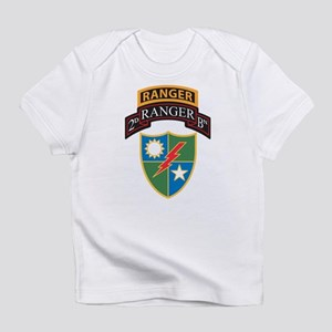 2nd Ranger Bn with Ranger Tab Infant T-Shirt