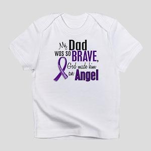 Angel 1 Pancreatic Cancer Infant T-Shirt