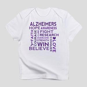 Alzheimers Support Word Cloud Infant T-Shirt
