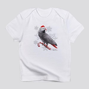Christmas African Grey Parrot T-Shirt
