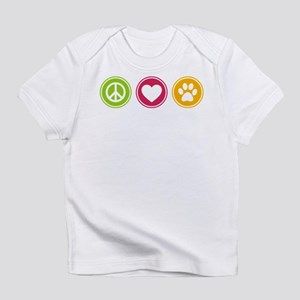 Peace - Love - Dogs Infant T-Shirt