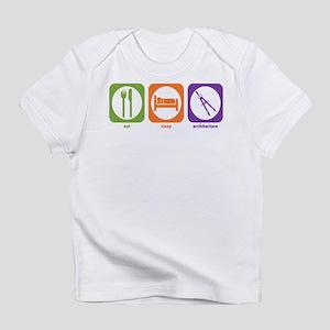 Eat Sleep Architecture Creeper Infant T-Shirt