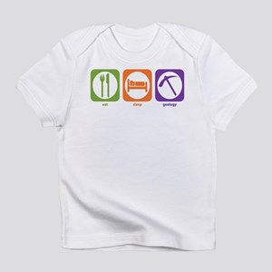 Eat Sleep Geology Creeper Infant T-Shirt