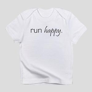 Run Happy Creeper Infant T-Shirt