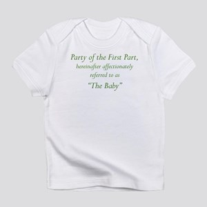 Party of the First Part Infant T-Shirt