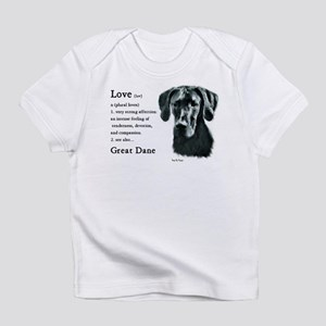Great Dane (Black) Gifts Infant T-Shirt