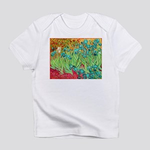 van gogh teal irises Infant T-Shirt