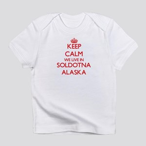 Keep calm we live in Soldotna Alask Infant T-Shirt