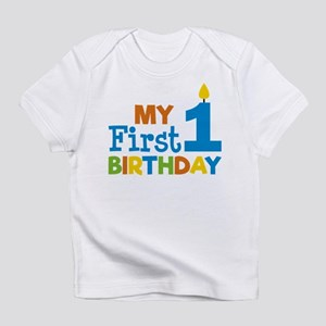Boy's My First Birthday T-Shirt