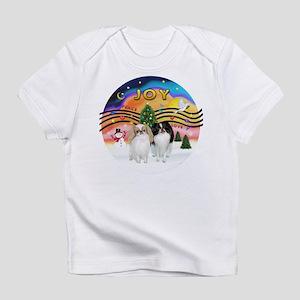 Music2-2Jap Chins (Lem+BW) Infant T-Shirt