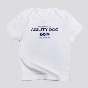 Property of an Agility Dog Baby Infant T-Shirt