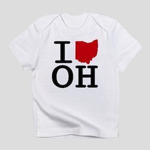 I Heart Ohio Infant T-Shirt