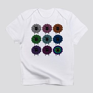 A Rainbow of Sheep Infant T-Shirt