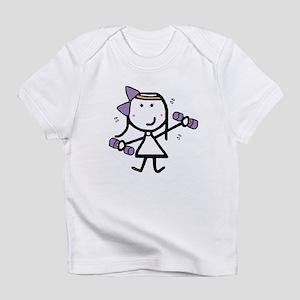 Girl & Exercise Infant T-Shirt