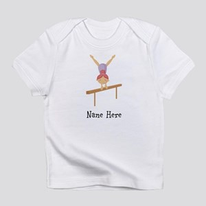 gymnast on beam Infant T-Shirt
