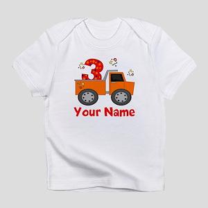 3rd Birthday Dump Truck Infant T-Shirt