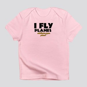I Fly Planes what's your super power Infant T-Shir