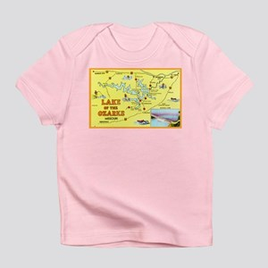 Lake of the Ozarks Map Infant T-Shirt