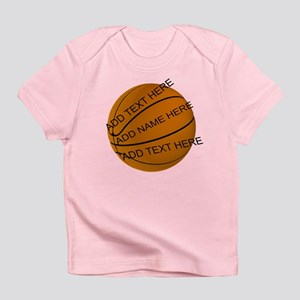 Personalized Basketball Infant T-Shirt