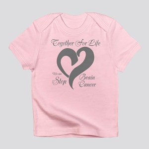 Personalizable Brain Cancer Infant T-Shirt