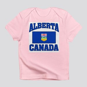 Alberta Canada Flag Infant T-Shirt