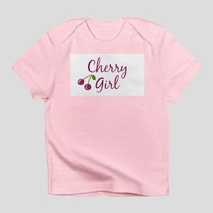 Cherry Girl Creeper Infant T-Shirt