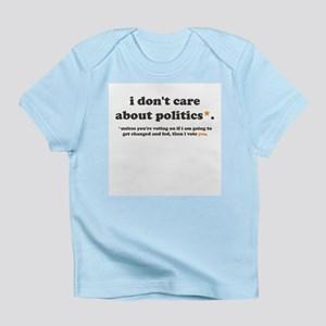 baby vote infant t-shirt