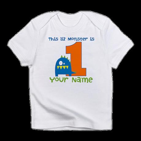 First Birthday Monster Infant T-Shirt