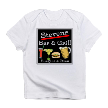 Personalized Bar and Grill Infant T-Shirt