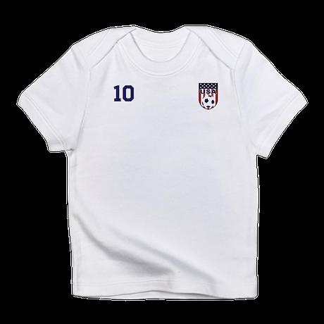 Custom USA Soccer T-Shirt Jersey Infant T-Shirt