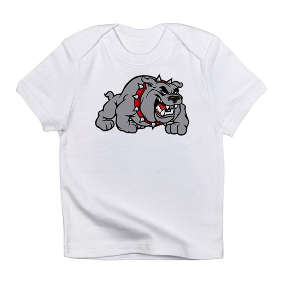 grey bulldog
