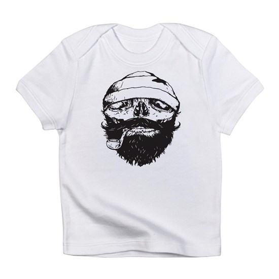 Sailor Beard Skull Vest Pirate Tank Gym Top Single