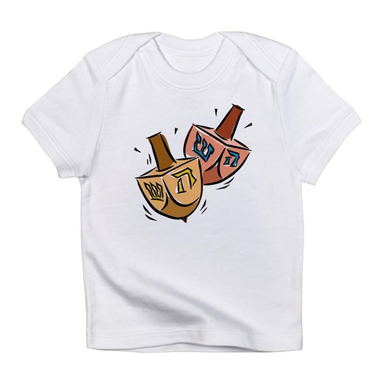 two spinning dreidels