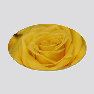 Yellow roses Wall Decal