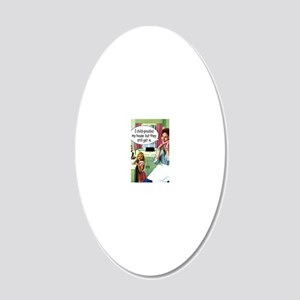 26HCD00Z 20x12 Oval Wall Decal