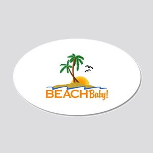 To The Beach Wall Decal