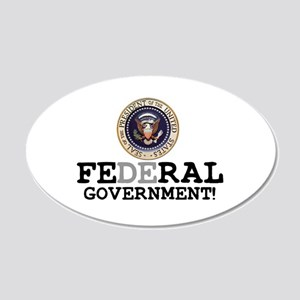 FERAL GOVERNMENT Wall Sticker
