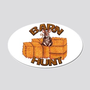 Barn Hunt Wall Decal
