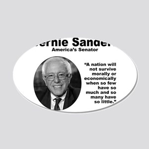 Sanders: Survive 20x12 Oval Wall Decal