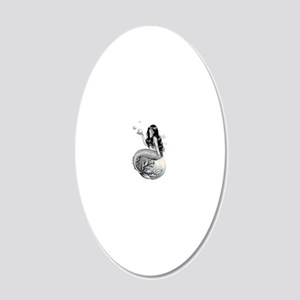 Bubbles 20x12 Oval Wall Decal