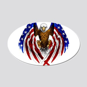 Eagle2 20x12 Oval Wall Decal