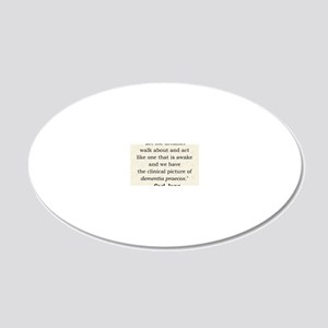 Jung 20x12 Oval Wall Decal