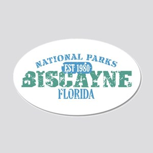 Biscayne National Park FL 22x14 Oval Wall Peel