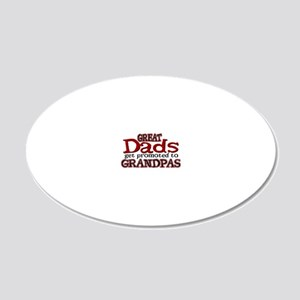 Grandpa Promotion 20x12 Oval Wall Decal